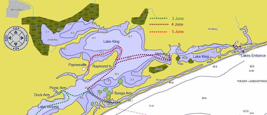 The Gippsland lakes – hinchy org
