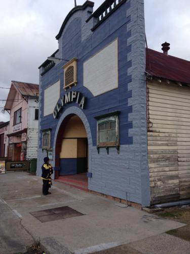 The charming Olympia Theatre in Bombala
