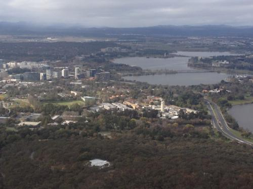 The view from the Telstra Tower
