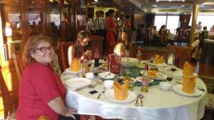 The meals were a lavish affair