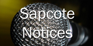 Sapcote Notices – 27th March 2016