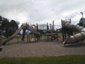 playground Westside Park Hinckley MN