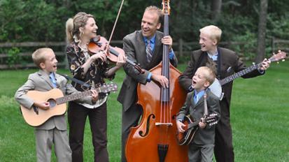 summer concert Benson Family Singers in Hinckley MN