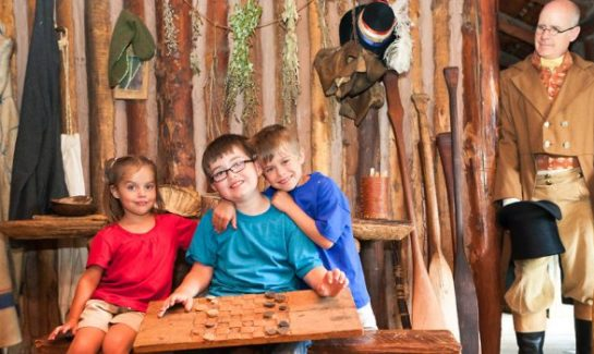 children's weekend at Snake River Fur Post Pine City