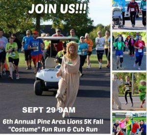 Marathon Fun Run in Pine City MN