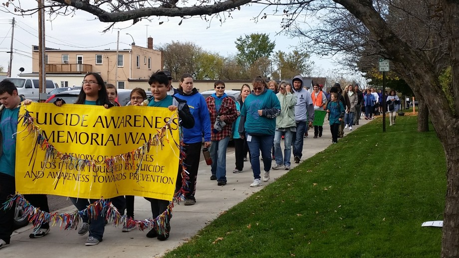 Carlton MN Suicide Awareness Memorial Walk