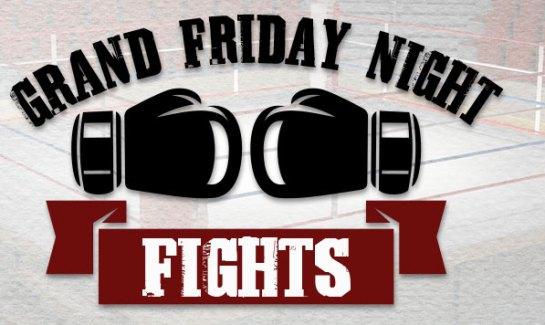 Boxing match Grand Friday Night Fights at Grand Casino
