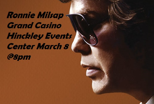 Ronnie Milsap at Grand Casino Hinckley MN