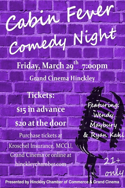 Comedy Night in Hinckley MN