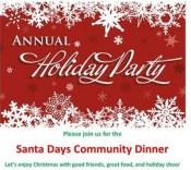 Santa-Days-Community-Dinner-poster