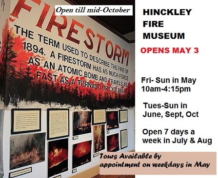 Hinckley Fire Museum Hours 2019