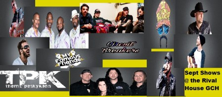 Rival House bands schedule at Grand Casino Hinckley MN