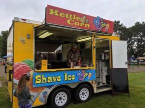 rib fest kettle corn booth