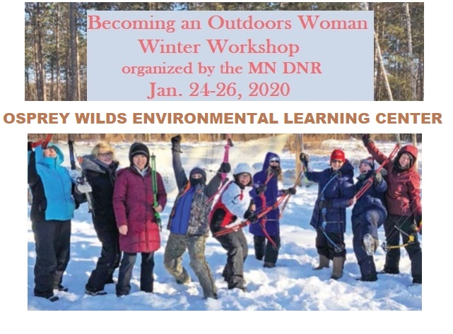 Outdoors Woman Workshop DNR at Osprey Wilds Center Sandstone