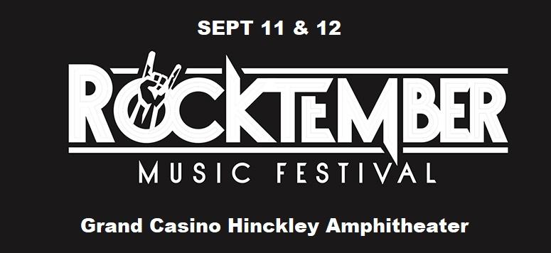 Rocktember Grand Casino Hinckley