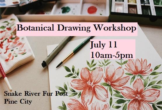 Workshop Botanical at Snake River Fur Post Pine City