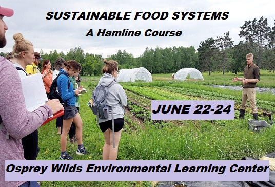 Sustainable food course