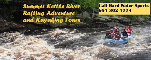Rafting, Kettle River, Sandstone, Summer