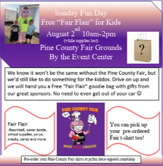 Pine County, Fair, Kids, Activities