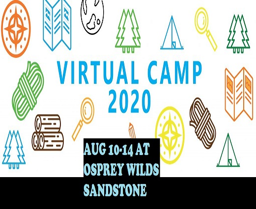 camping, activities, virtual, learning