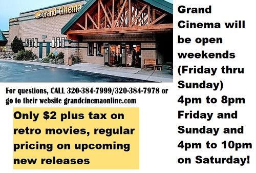 movies, cinema, Grand Cinema, Hinckley