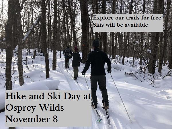 ski, winter, hiking, osprey wilds