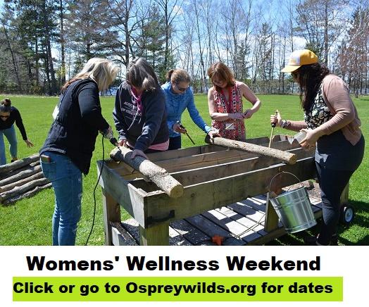 womens, wellnes, events, osprey, audubon, MN