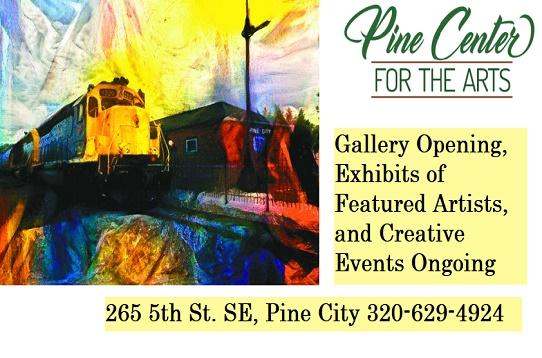 Arts, Pine Center, gallery, exhibits, MN