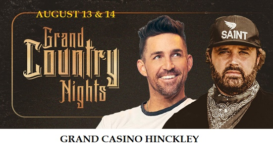 country, music, concerts,Grand Casino, hinckley