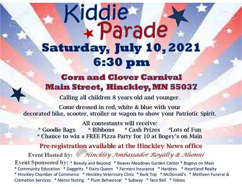 parades, kids, carnival, hinckley
