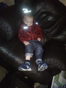 tim asleep
