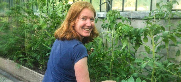 Vrijwilliger Yolanda Muntz