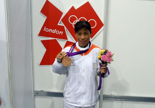 mary kom in london olympics