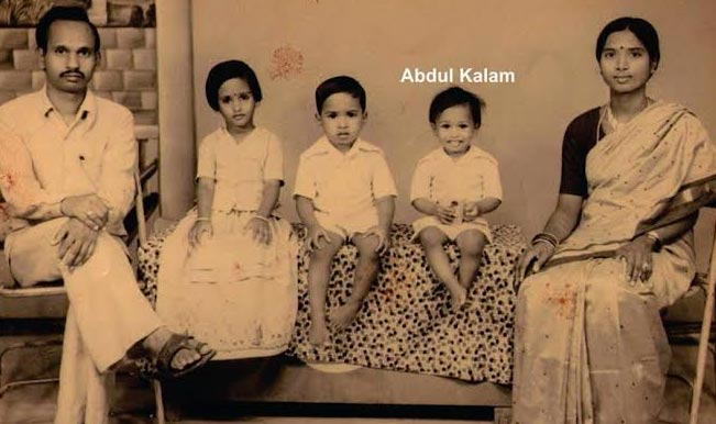 Abdul Kalam with Family in Childhood