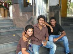 virat kohli with friends