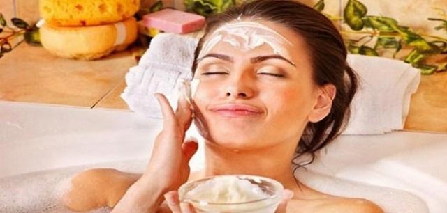 Image result for दही चेहरे पर लैप करें