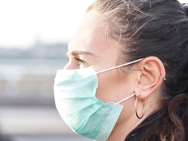 Sore throat could be because of prolonged mask usage.
