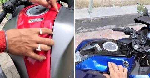 Yamaha R15 Tank Panel Featured