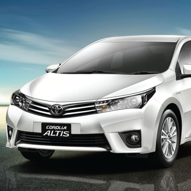 Toyota Corolla Altis My 2017 Discount