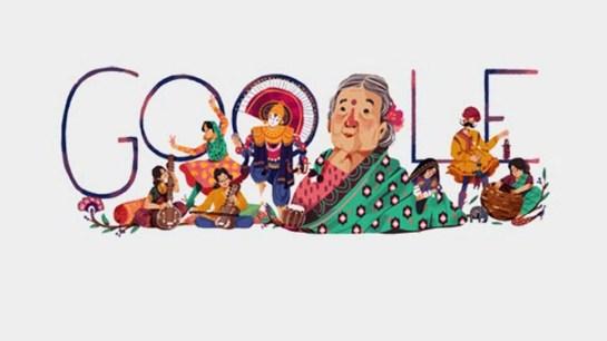 Google ने Doodle बनाकर किया स्वतंत्रता सेनानी कमलादेवी चट्टोपाध्याय को याद    google doodle make kamaladevi chattopadhyay 115th birthday