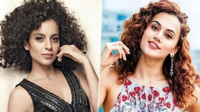 Kangana Ranaut made serious allegations against Taapsee Pannu ...