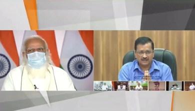 Corona: मीटिंग के लाइव प्रसारण पर Arvind Kejriwal से नाराज हुए पीएम मोदी, CM ने जताया खेद