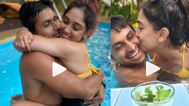 Aamir Khan's daughter Ira Khan's video with boyfriend was seen viral, romantic style