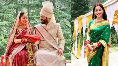 After marriage, the first picture of Mrs.Yami Gautam came in front, the actress was frozen in vermilion and bangle