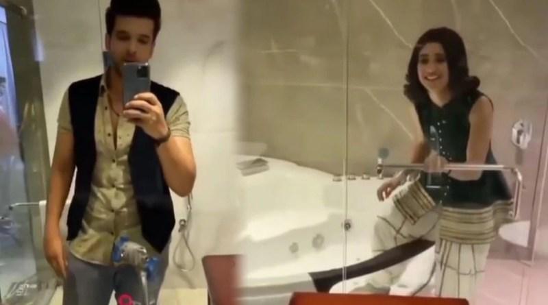 Yeh Rishta Kya Kehlata Hai: Shivangi Joshi was in the bathtub!  Then Karan Kundrra made a video after entering the bathroom.