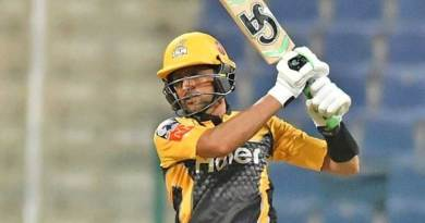 At the age of retirement, this Pakistani son-in-law shines, hitting 52 runs in 11 balls