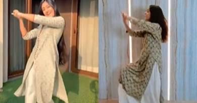 This girl did the exact copy of Dhanashree Verma's Mashup Dance, watch video