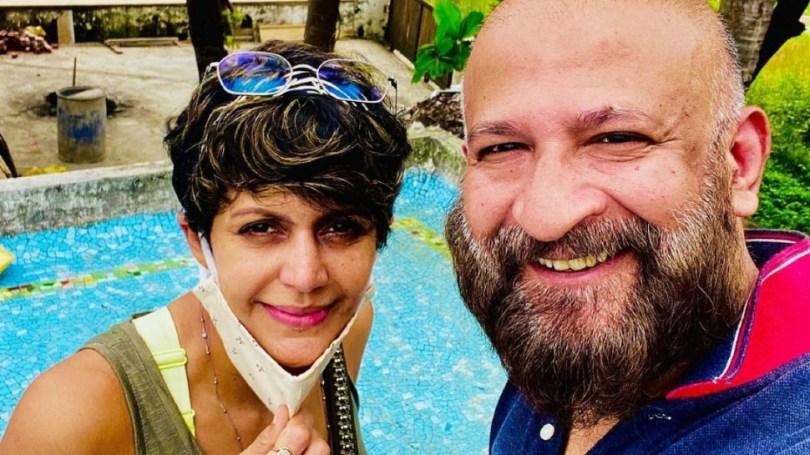 Mandira Bedi changed her instagram dp after her husband died    Mandira Bedi changed DP after husband's death, could not handle grief