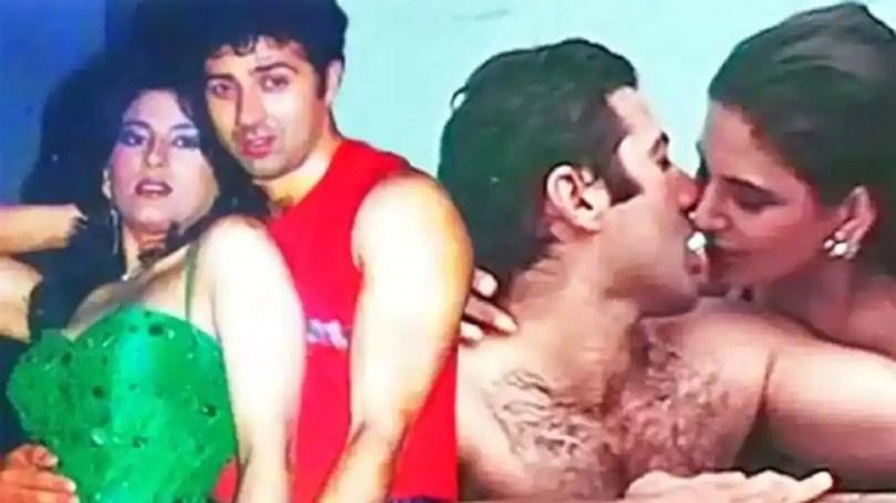 Archana Puran Singh Romantic Scene With Sunny Deol In Film Aag Ka Gola Gone Viral    Archana Puran Singh did a great kiss to Sunny Deol in the swimming pool, the romantic scene made a lot of headlines