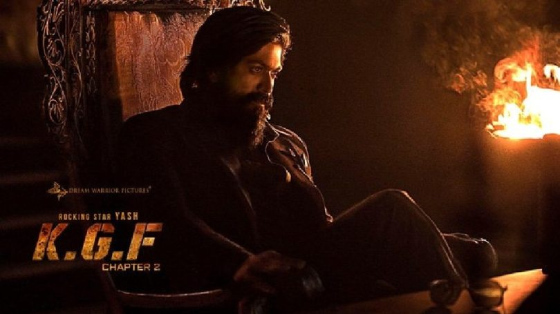 KGF Chapter 2 new poster leaks, yash aka Rocky in stunning look |  New poster of KGF Chapter 2 leaked, fans are anxious after seeing the style of 'Rocky'